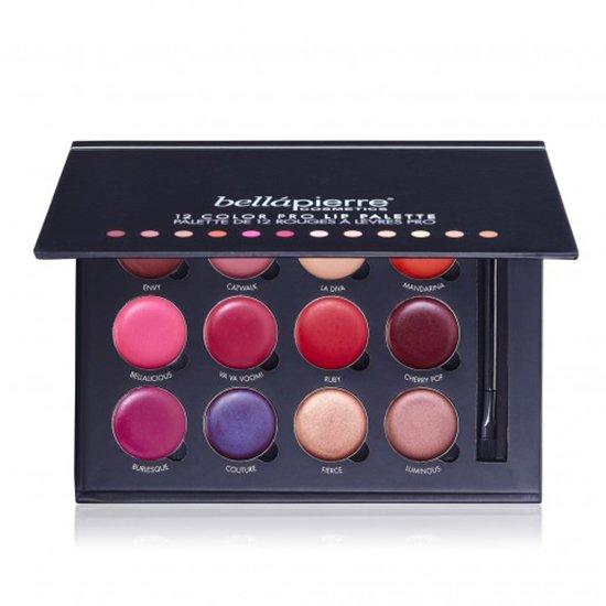 12 Color Pro Lip Palette van BellaPierre