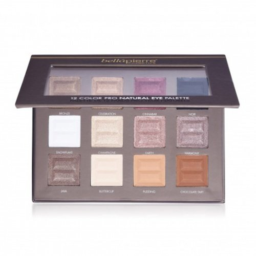 12 Color Pro Natural Eye Palette van BellaPierre