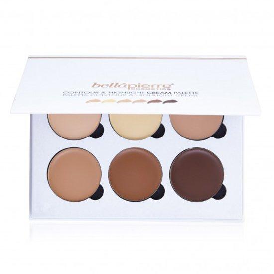 Contour & Highlight Cream Palette van BellaPierre
