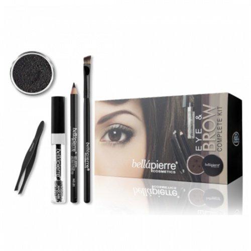Eye & Brow Complete Kit van BellaPierre Ebony