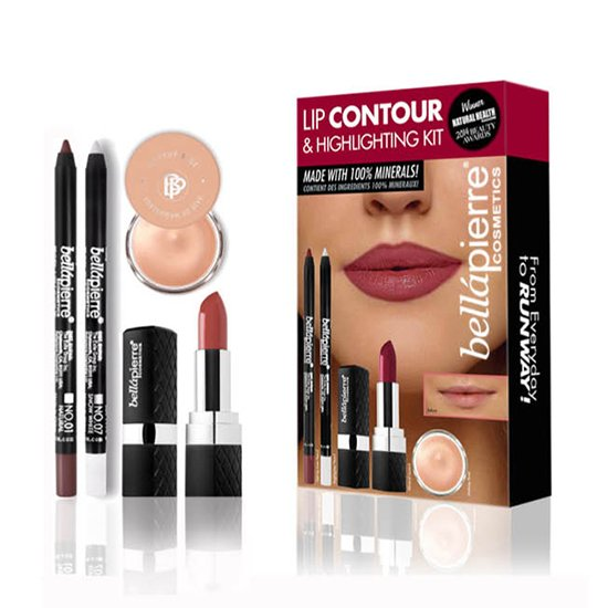 Lip Contour & Highlighting Kit van BellaPierre Natural