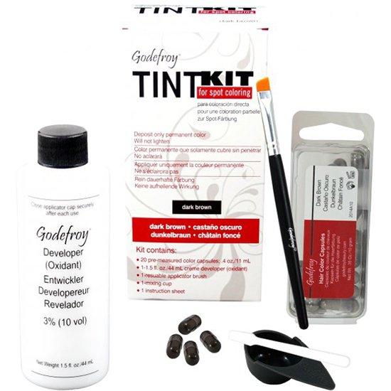Tint kit dark brown van Godefroy