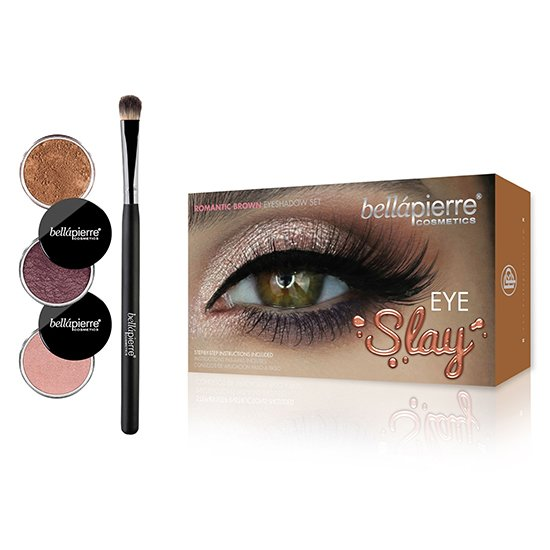 Eye Slay kit Romantic Brown van Bellapierre