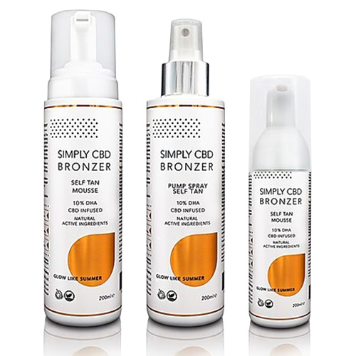 10+1 Simply Bronzer spraytan 200ml BrowTycoon