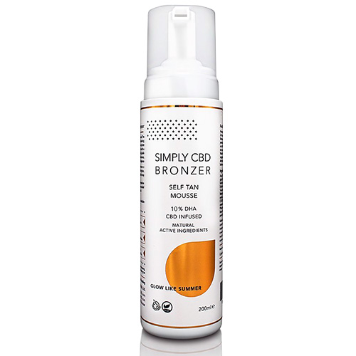Simply Bronzer Self Tan Mouse 200ml BrowTycoon
