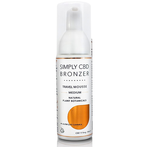Simply Bronzer Self Tan Mouse 50ml Travel BrowTycoon